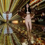 47 Models präsentieren die Victoria's-Secret-Dessous in London.
