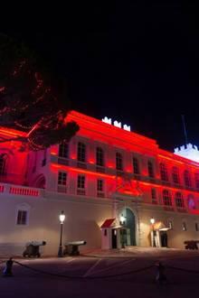 Auch die Facebook-Seite des Fürstenhauses steht ganz im Zeichen des freudigen Ereignisses und teilt Bilder des erleuchteten Palastes.
