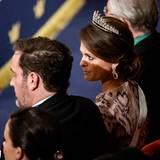 Prinzessin Madeleine und ihr Mann Chris sind extra aus Amerika gekommen.