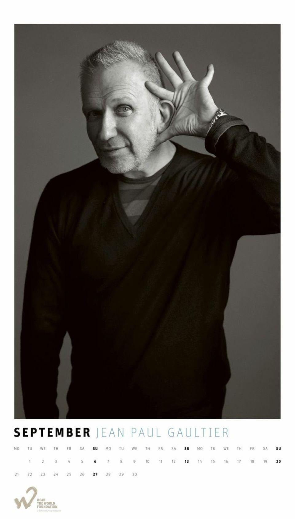 September: Jean Paul Gaultier