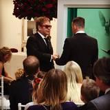 Ein emotionaler Moment: Elton John und David Furnish geben sich das Eheversprechen.