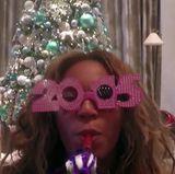 """Happy new year!"" Auch Beyoncé teilt Neujahrsgrüße."