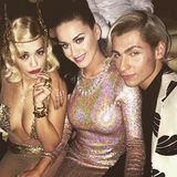 "Rita Ora feiert mit Katy Perry den ""New Years Eve""."
