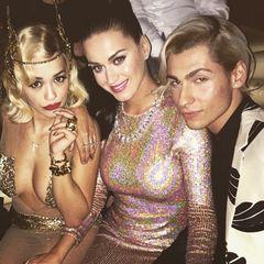 "Rita Ora feiert mit Katy Perry den ""New Years Eve""."