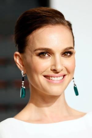 Natalie Portman genießt das Blitzlichtgewitter.