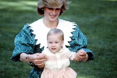 Prinz William macht erste Schritte in Neuseeland 1983.