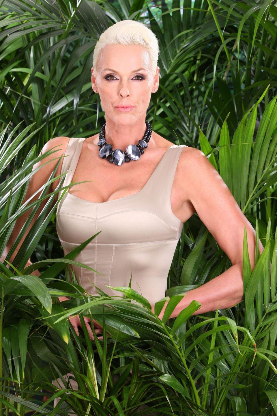 6. Staffel - 2012 - Brigitte Nielsen  Allround-Talent Brigitte Nielsen kann sich gegen Kim Gloss und Rocco Stark durchsetzen.