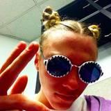 September 2015  Madonnas Sohn Rocco macht hier einen auf Miley Cyrus.