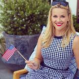September 2015  Reese Witherspoon teilt dieses Bild von sich zum Labor Day auf Instagram.