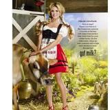 """August 2015  Heidi Klum hat dieses alte """"Got Milk""""-Kampagnenbild wieder rausgekramt."""
