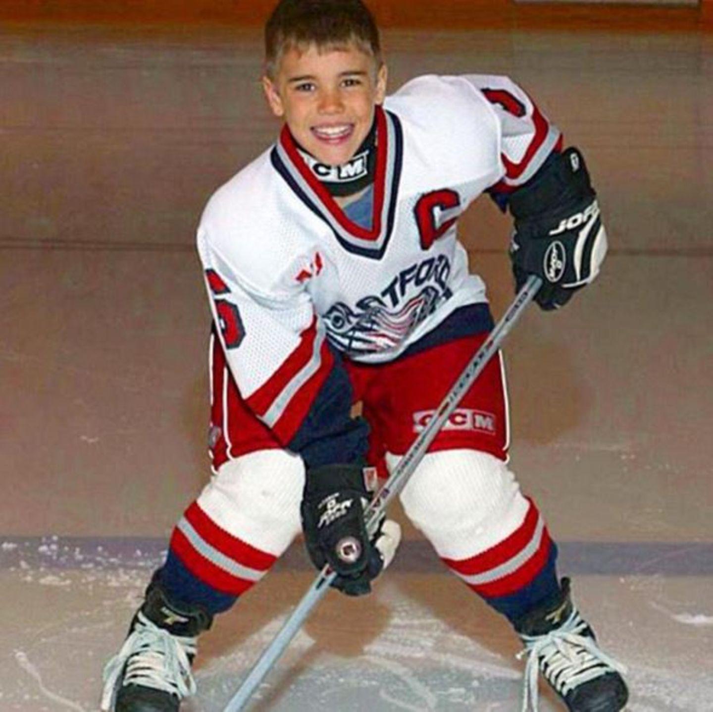 Oktober 2015  Justin Bieber zeigt auf seinem Instagramprofil ein süßes Kinderbild von früher.