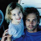 September 2015  Meadow Walker gratuliert ihrem verstorbenen Vater mit diesem Bild und der Gründung der Paul Walker Stiftung von ganzen Herzen zu seinem 42. Geburtstag.