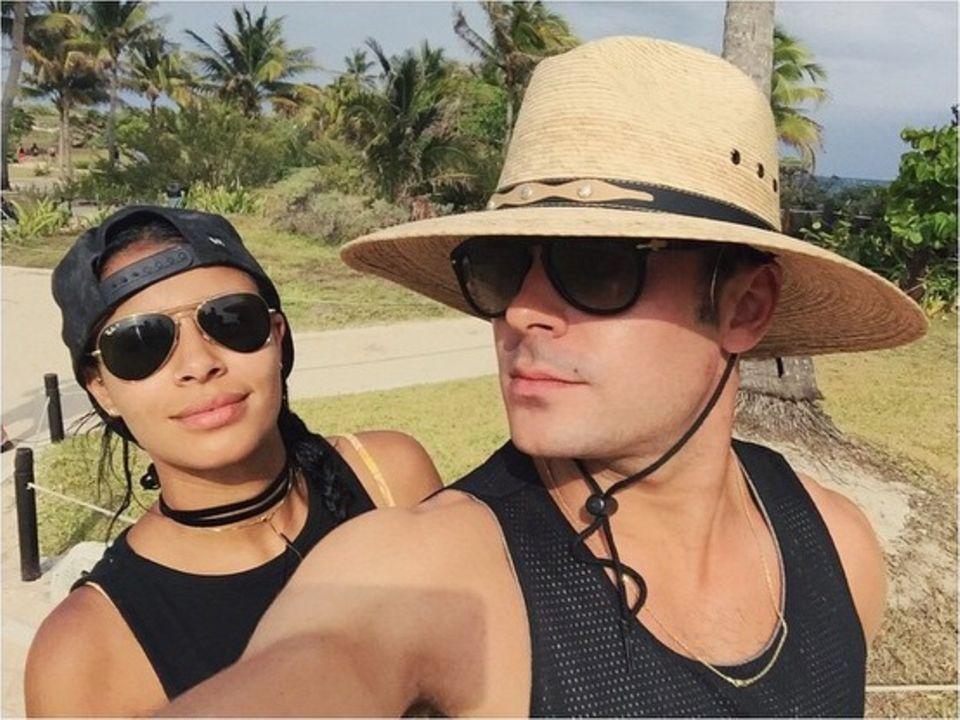 April 2015: Zusammen mit seiner Freundin Sami Miró genießt Zac Efron seinen Trip nach Mexico.