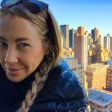 November 2015  Alessandra Meyer-Wölden schickt mit diesem Foto liebe Grüße aus New York.