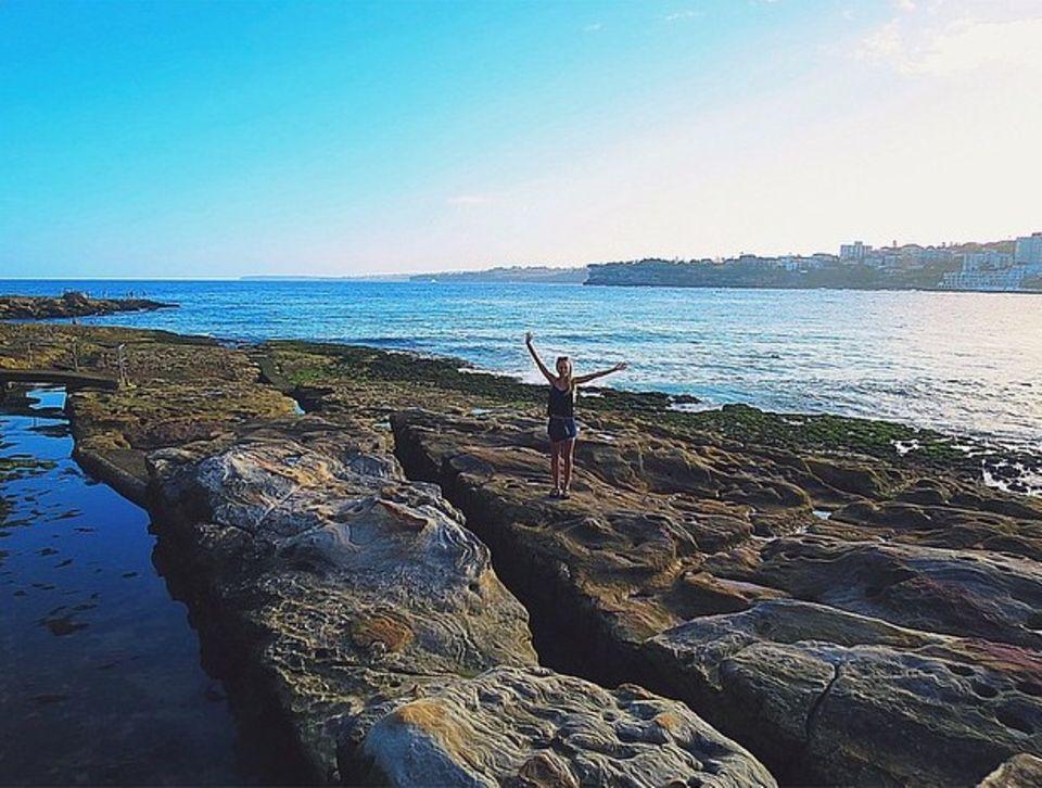 Januar 2015  Vivianne Raudsepp, die schöne Freundin von Samu Haber, teilt eine atemberaubende Naturkulisse mit ihren Fans.