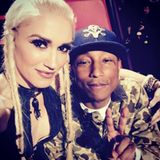 """Dezember 2015  Gwen Stefani versteht sich mit allen Jury-Kollegen bei """"The Voice"""" gut - auch mit dem Produzenten Pharrell Williams."""