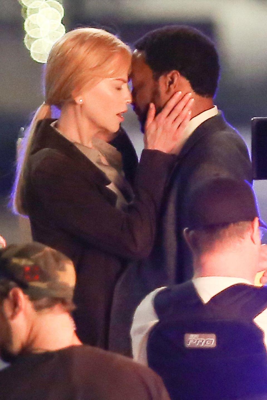 """11. Februar 2015: Später als ursprünglich geplant startet der Dreh für den Film """"The Secret in Their Eyes"""" mit Nicole Kidman, Chiwetel Ejiofor."""