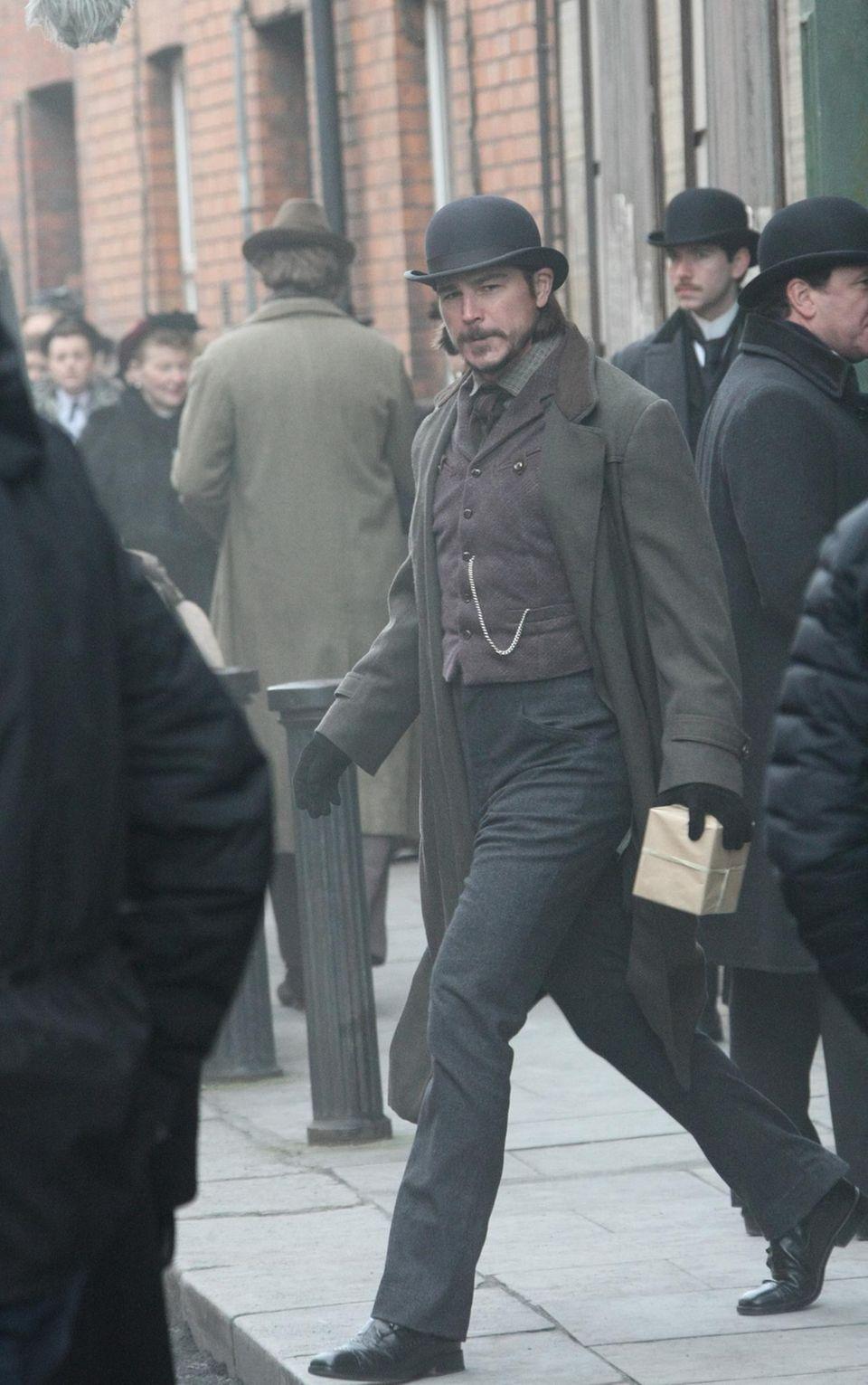 """2. Februar 2015: Für die Horrorserie """"Penny Dreatful"""", die im 19. Jahrhundert spielt, werden neue Szenen in Irland gedreht. Josh Hartnett spielt eine der Hauptrollen."""
