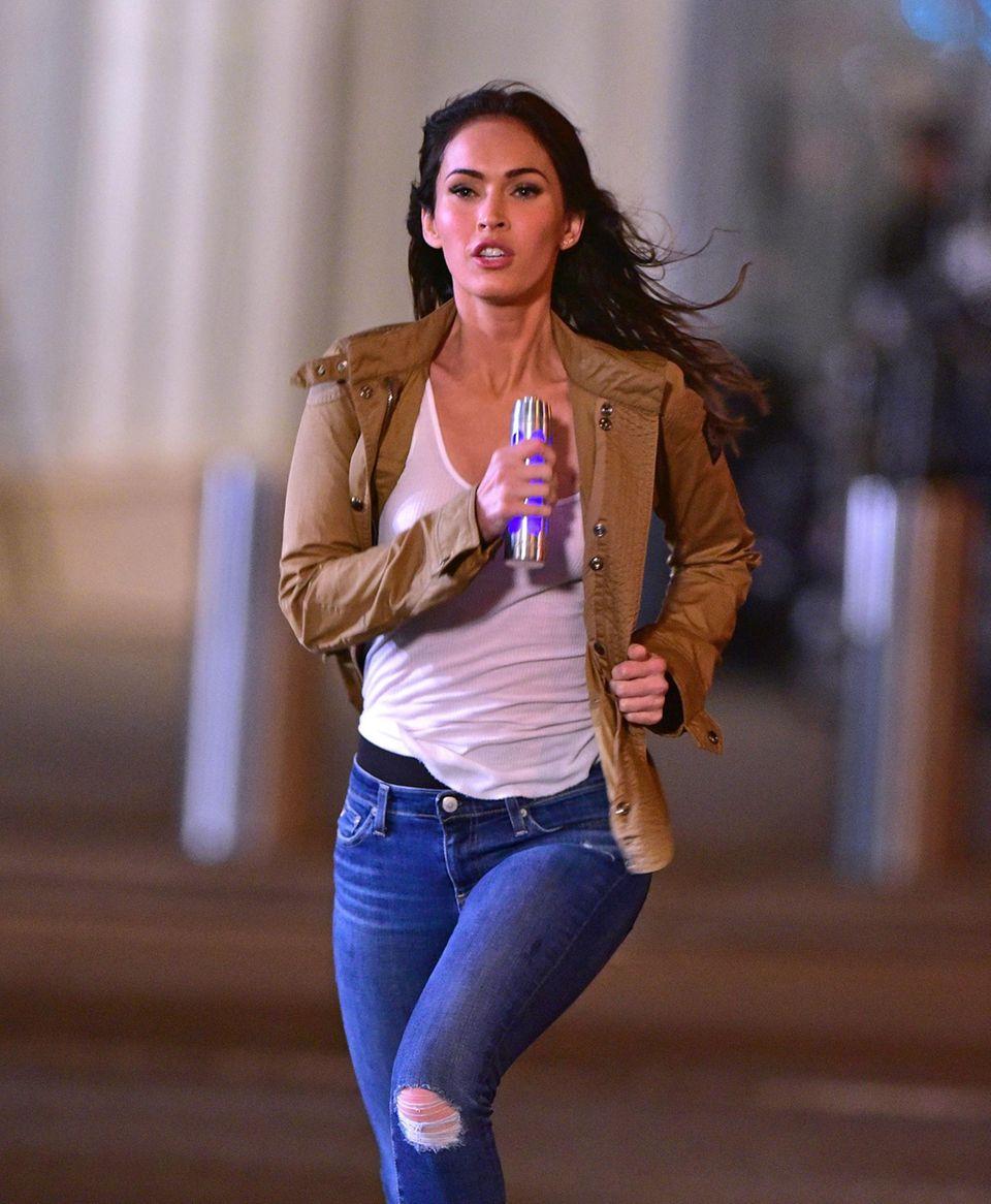 """28.April 2015: Megan Fox spielt auch im zweiten Teil von """"Teenage Mutant Ninja Turtles"""" wieder die Rolle der """"April O'Neil""""."""