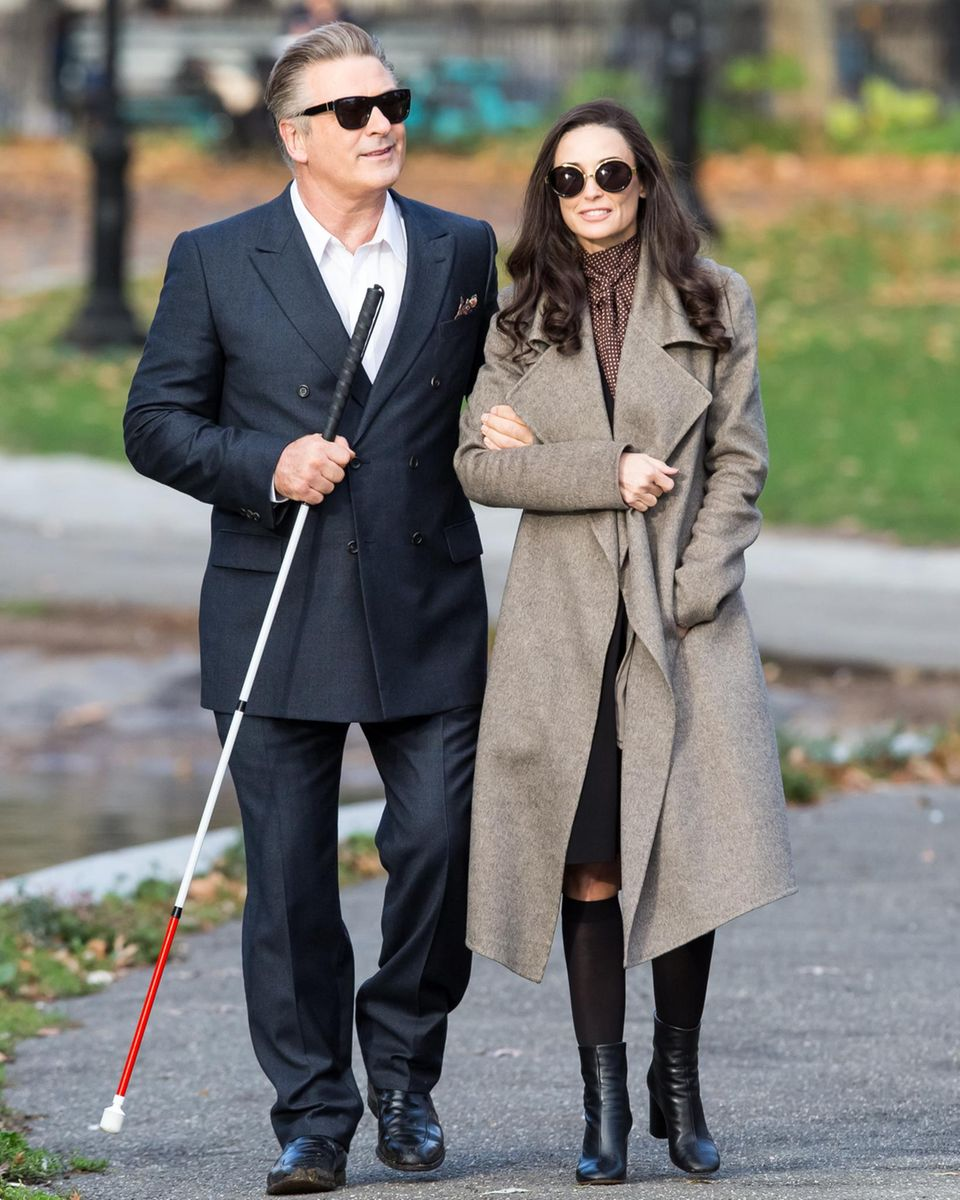 """11. November 2015: Demi Moore spielt in """"Blind"""" die Affäre des blinden Schriftstellers. Seit nunmehr neunzehn Jahren stehen Moore und Baldwin wieder gemeinsam vor der Kamera."""