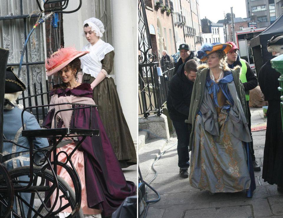 """17. Februar 2015: Chloë Sevigny und Kate Beckinsale stehen wieder gemeinsam vor der Kamera für den Film """"Love and Friendship"""". Die Geschichte basiert auf dem 1794 geschriebenen Jane-Austen-Roman """"Lady Susan""""."""