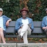"""31. August 2015: Für Zach Braffs Film """"Going in Style"""" kommen Alan Arkin, Morgan Freeman und Michael Caine zusammen."""
