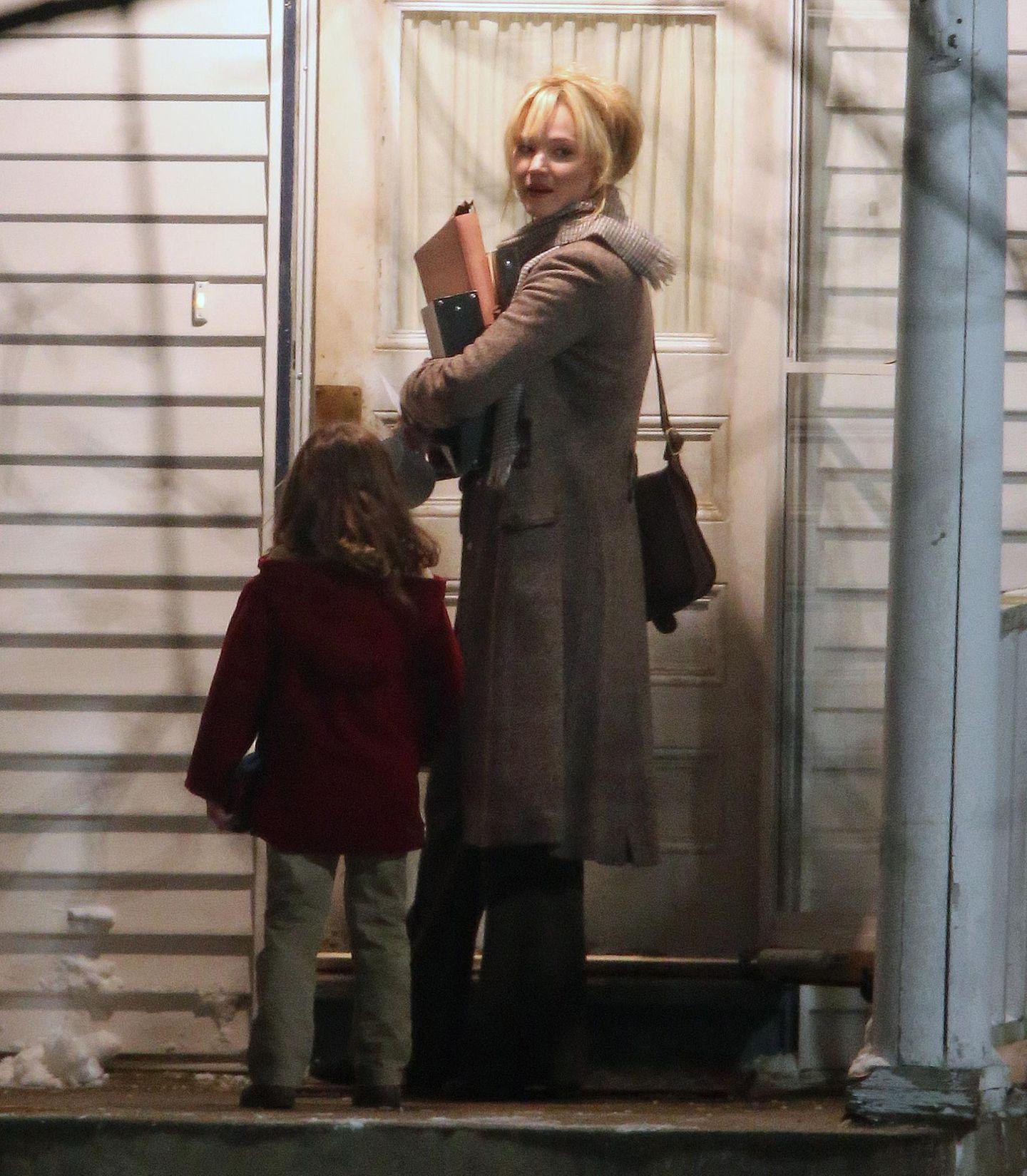 """19. Februar 2015: Jennifer Lawrence ist gerade am Set des Films """"Joy"""". Sie spielt eine alleinerziehende Mutter, die mit einer genialen Idee zu einer der erfolgreichsten Unternehmerinnen in Amerika wird."""