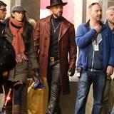"""29. April 2015: Im kalten Toronto dreht Will Smith eine Szene für seinen neuen Film """"Suicide Squad"""". In der neuesten Verfilmung eines """"DC Comic"""" spielen neben Smith auch Jared Leto, Margot Robbie und Cara Delevingne mit."""