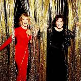 Red and Black: Jane Fonda und Lily Tomlin
