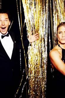 Jennifer Aniston und Benedict Cumberbatch.