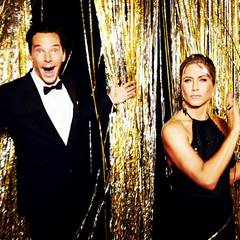 Jennifer Aniston und Benedict Cumberbatch.