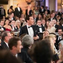 Alle Augen sind auf Benedict Cumberbatch gerichtet.