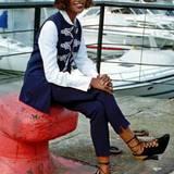 Die Londonerin Naomi Campbell hat jamaikanische und, väterlicherseits, jamaikanisch-chinesische Wurzeln. Mit gerade einmal 15 Jahren von einer Agentin der Elle entdeckt, startete Campbell Ende der Achtziger Jahre eine unvergleichliche Karriere. Als erstes schwarzes Model schaffte sie es auf das Cover der französischen Vogue.