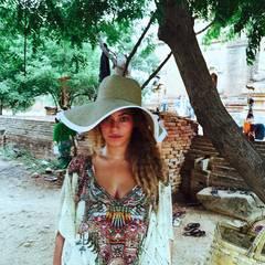 Beyoncé Knowles besucht mit Mann Jay-Z und Tochter Blue Ivy Südostasien.