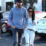 25. November 2015: Kourtney Kardashian und Scott Disick gehen gut gelaunt und ohne Kinder zum Lunch aus. Kommen die beiden wieder zusammen?