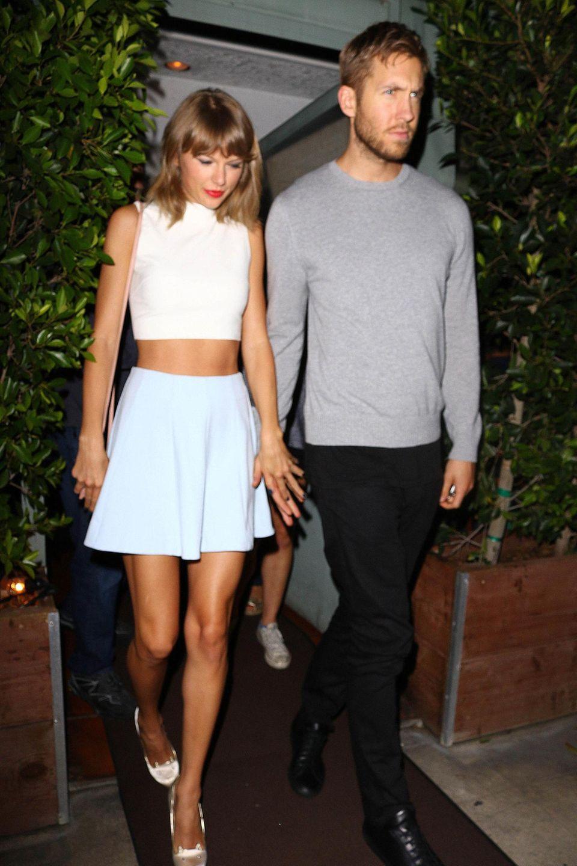11. August 2015: Taylor Swift und Calvin Harris waren beim Italiener Giorgio Baldi in Santa Monica essen.