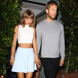 11. August 2015: Taylor Swift und Calvin Harris waren beim Italiener Giorgio Baldi in Santa Monica essen.