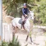 12. Mai 2015: Iggy Azalea macht nicht nur auf dem roten Teppich, sondern auch auf dem Pferd eine gute Figur. In Los Angeles trainiert sie für das nächste Springturnier.