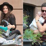 """1. Juli 2015: Der """"Leftovers""""-Star Liv Tyler und ihr Bräutigam Dave Gardner sind bereit gemeinsam mit ihrem Sohn Sailor Gene Liv's 38. Geburtstag zu feiern."""