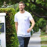 28. Oktober 2015: Sport macht gute Laune: das bestätigt auch das strahlende Lächeln von Calvin Harris beim morgentlichen Workout.