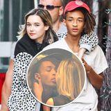 15. September 2015: Schwer verliebt zeigt sich Jaden Smith mit seiner neuen Freundin in New York.
