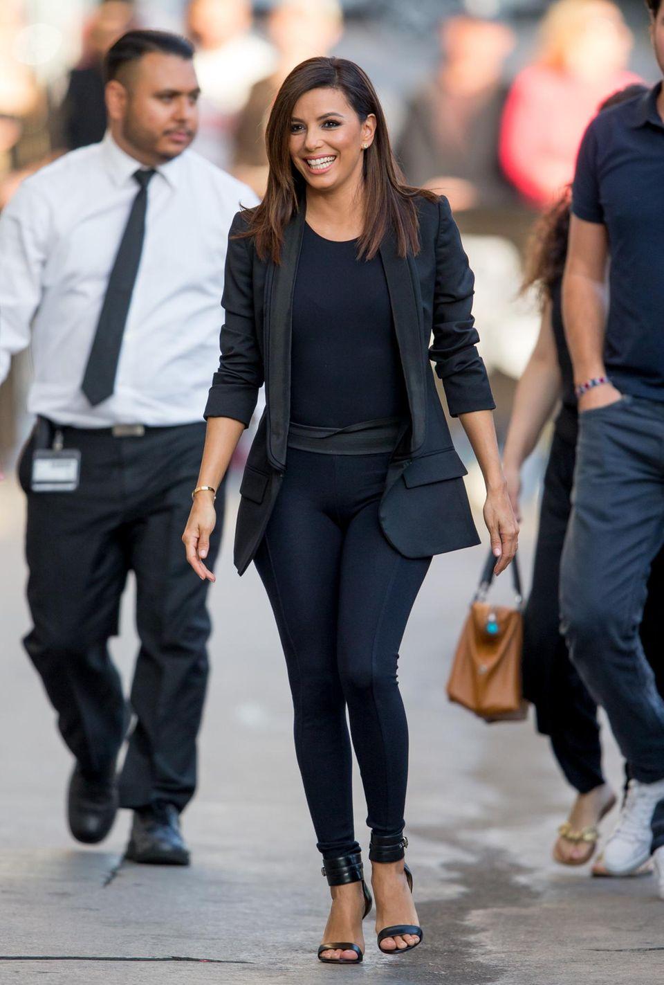 "2. Februar 2015: Eva Longoria ist auf dem Weg zur ""Jimmy Kimmel Live!"" Show in Hollywood."
