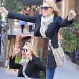 5. Oktober 2015: Kate Winslet startet bestens gelaunt in New York in ihren 40. Geburtstag.