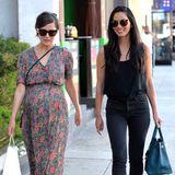 29. Oktober 2015: Die Freundinnen Rose Byrne und Olivia Munn treffen sich in Los Angeles zum Lunch und haben bestimmt mehr als nur Babythemen zum Austauschen.