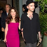 21. Juli 2015: Bill Kaulitz ist Arm in Arm mit TV-Sternchen Lisa Vanderpump in West Hollywood unterwegs.