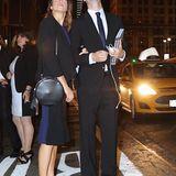27. September 2015: Nikki Reed und Ian Somerhalder stoppen mitten auf der 42nd Street in New York, um sich den Blutmond anzuschauen.