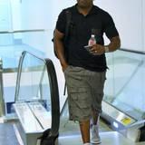 30. September 2015: Schauspieler Mekhi Phifer ist auf dem Weg Los Angeles zu verlassen.