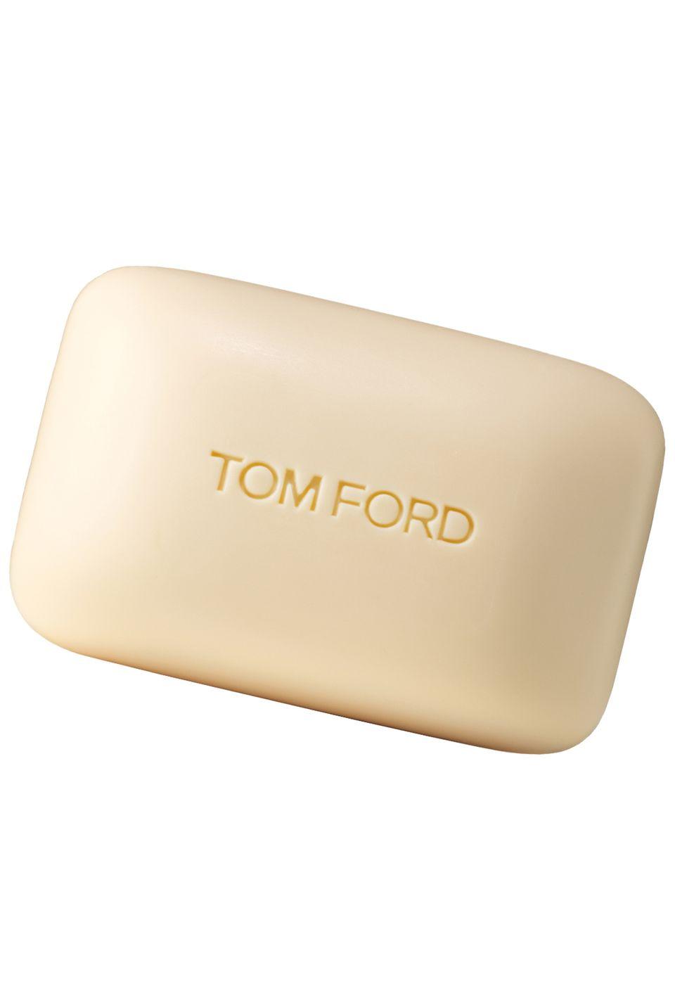 """Saubere Sache:  """"Jasmin Rouge Bath Soap"""" aus der Private-Blend-Kollektion von Tom Ford, 150 g, ca. 30 Euro"""