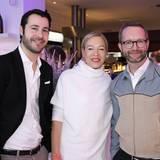 Jonas Wolf, Publisher GALA, Vanessa Brüske, Oui Gruppe und Marcus Luft, Stv. GALA-Chefredakteur / GALA-Modechef