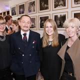 Diana von der Forst, Gerhard Kränzle, Martine Elsholz und Karin Benzig (alle Gardeur)